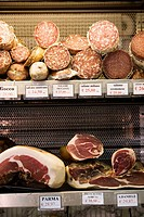 Deli meats. Venice, Italy