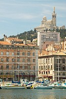 ´Buildings in Marseilles, France´