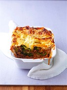 Lasagne, close-up