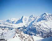 Travel, Switzerland, Landscape, Alps, Jungfrau region,