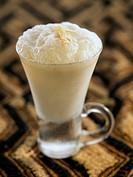hazelnut milkshake