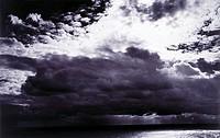 Bank of clouds over ocean, Malta