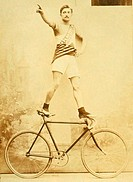 Acrobat on a Bicycle