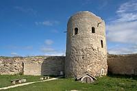 Fortress, near Pskov. Izborsk. Russia.