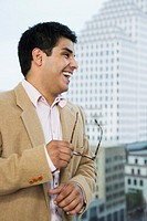 Laughing businessman (thumbnail)