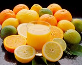 Citrus fruits juice