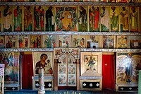 Church of the Intercession of the Mother of God, Pokrovskaia Tserkov, 1764. Kizhi Island. Onega lake, Karelia. Russia.