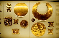 Costa Rica, San JosÚ, National Museum, Precolumbian jewels (thumbnail)