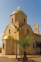 Jordan, Bethany, Greek Orthodox church