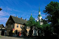 Estonia, Parnu, St Catherine's church
