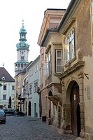 Hungary, Sopron, F÷ tÚr Place, Fire Tower