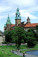 Poland, Kracow, Wawel Hill, royal castle (thumbnail)