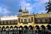 Poland, Kracow, Cloth Hall