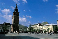 Poland, Kracow, City hall tower