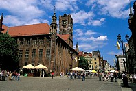 Poland, Torun, City hall