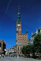Poland, Gdansk, City hall