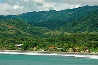 Costa Rica, Pacific coast, beach and forest