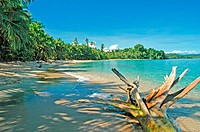 Costa Rica, Caribbean coast, beach (thumbnail)