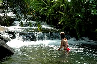 Costa Rica, Arenal Volcano National Park, Tabacon, hot springs