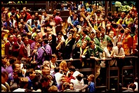 Trading floor of Board of Trade