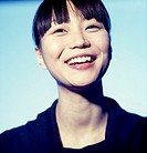 Portrait of Asian woman, smiling