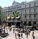 Gran Teatre del Liceu opera house, Barcelona. Catalonia, Spain