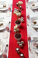 Christmas place settings