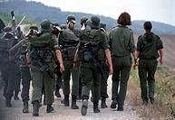 israel, israeli defense force battalion, idf, recruits