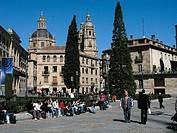Plaza de Anaya, Salamanca. Castilla-León, Spain
