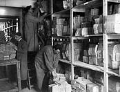 italia, magazzini delle schede, 1910