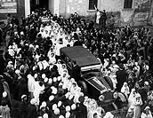 italia, benedizione degli agnelli a sant´agnese, 1920_30
