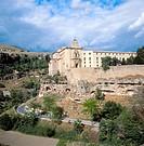 Convento de San Pablo (1523), state-run hotel, Cuenca. Castilla-La Mancha, Spain