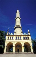 Moorish, Minaret, near, Lednice, Lednice-Valtice, district, Czech, Republic, Czechia, Lednicko-Valticky, Area,
