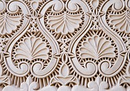 ´Decorative fretwork, close-up full frame´