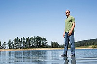 Man standing on water (thumbnail)