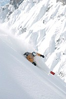 freeriding, skiing