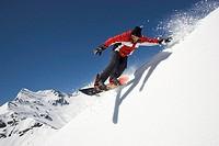 Großglockner, snowboard