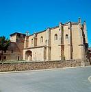 Church of Nuestra Señora de los Huertos (1510-1515), Sigüenza. Guadalajara province, Castilla-La Mancha, Spain