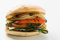 Grilled vegetable burger