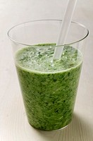 A glass of herb drink
