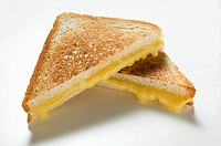 Toasted cheese sandwiches