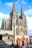 Gothic cathedral (13th century), Burgos. Castilla-L&#233;on, Spain