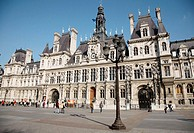 Hotel de Ville, París, Francia