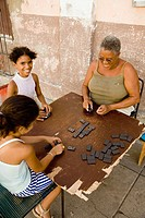 Playing dominoes. Cienfuegos. Cuba