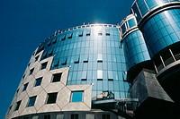 Austria, Vienna, Stephan place, Haas house, facade.