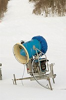 Snow cannon in Sweden