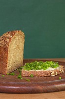 Bread with chives