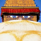 The all sighted eye Buddhas, Kathmandu, Nepal