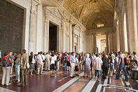 Rome. Italy. Vatican City. St. Peter´s Basilica