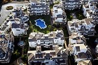 Housing development, Marbella. Malaga province, Andalusia, Spain